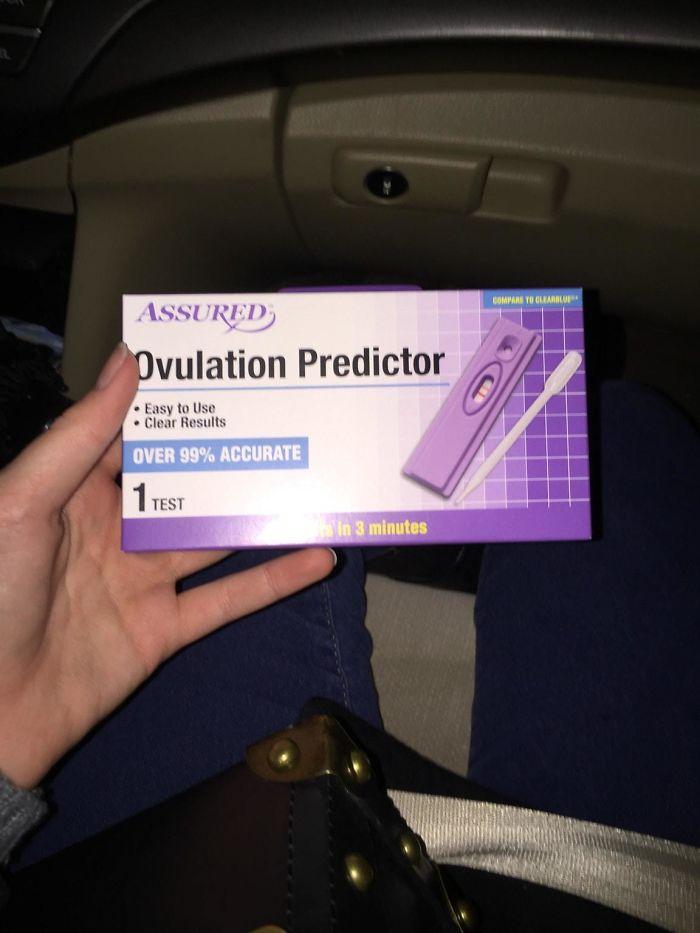 Fui a casa de mis futuros suegros a cenar en Navidad. Ella me regaló un aparato para predecir la ovulación