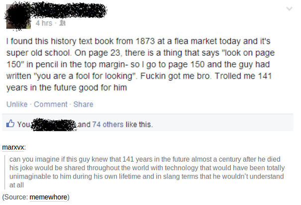 141 Years Old Troll