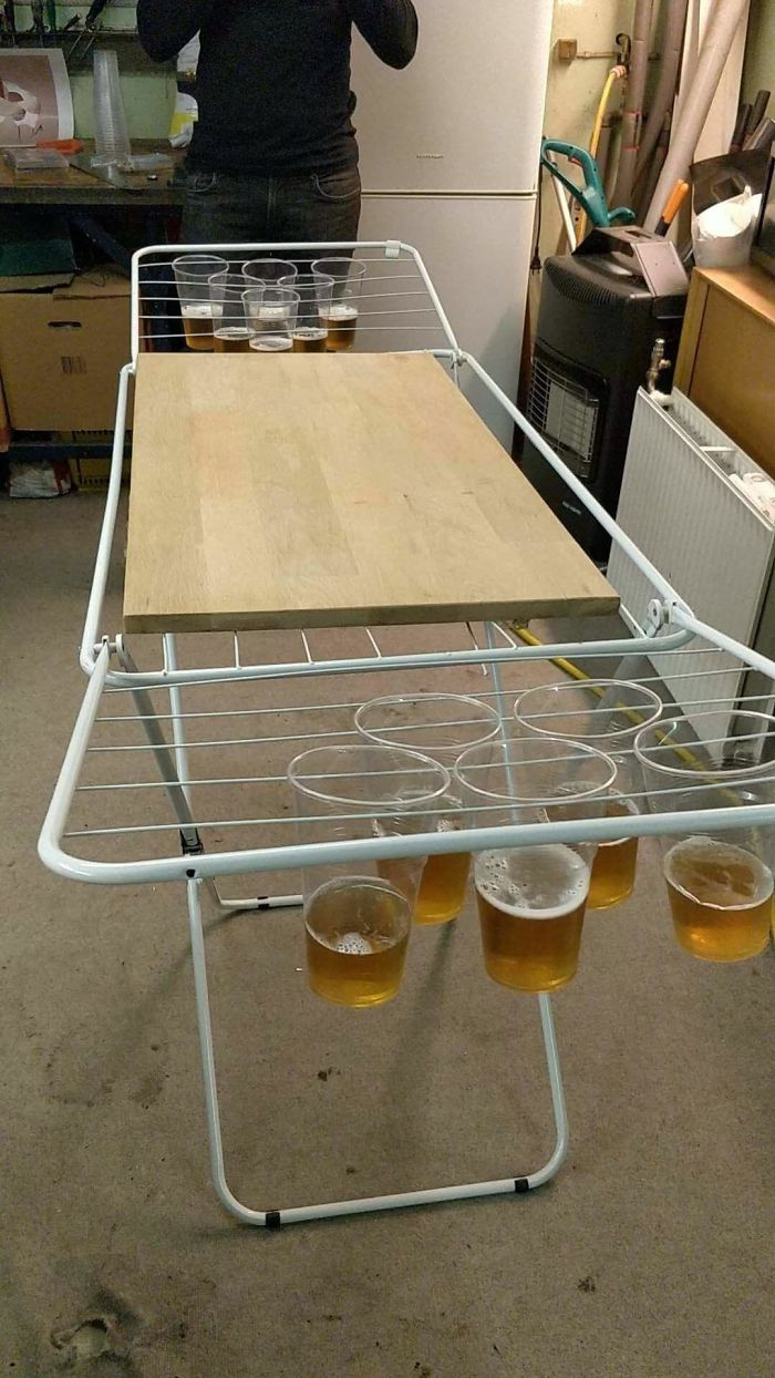 Foldable Beerpong Table