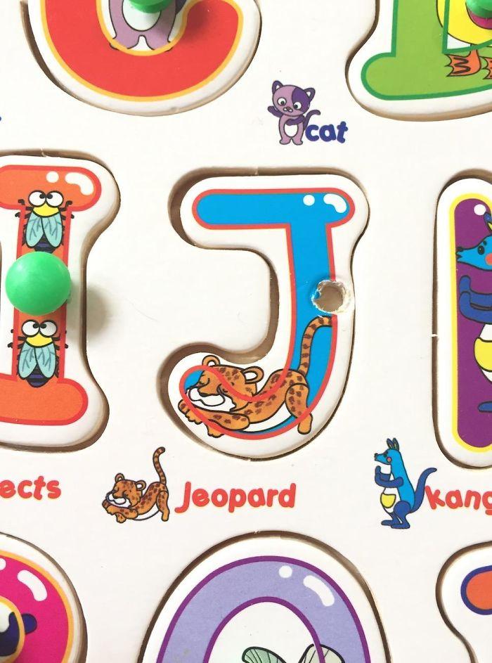 My Son's Educational Alphabet Puzzle