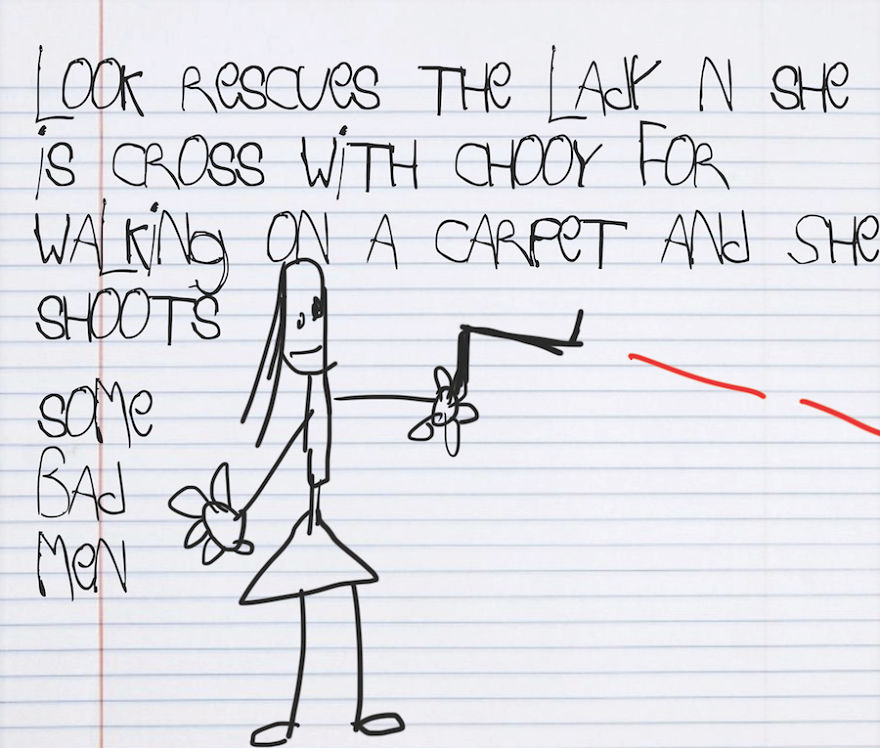 I Turned The Weirdest Kids Descriptions Of Star Wars Into A Picture Book
