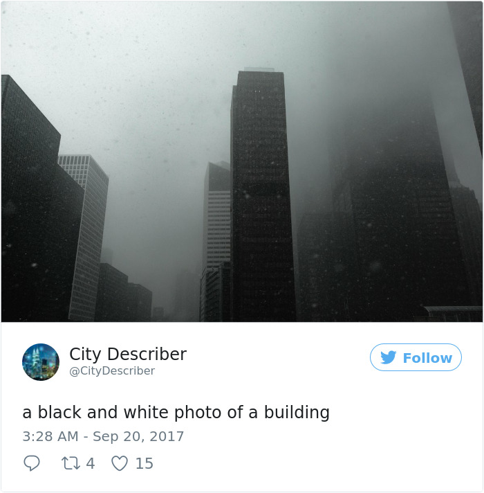 Microsoft's Ai Fails At Captioning Picturesque Cityscapes To Hilarious Effect