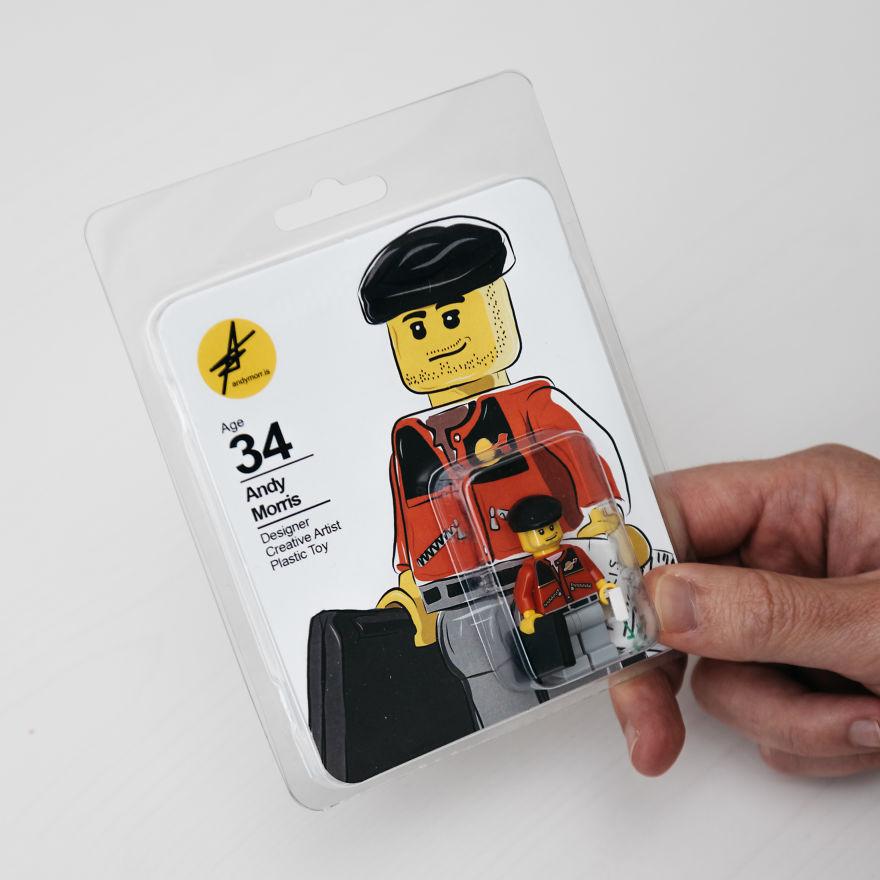 """CV'sini Lego'dan Yapan Tasarımcı """"Andy Morris!"""" 6"""