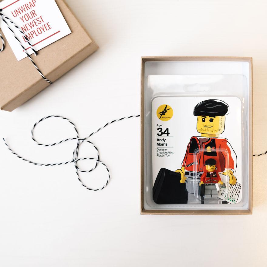"""CV'sini Lego'dan Yapan Tasarımcı """"Andy Morris!"""" 1"""