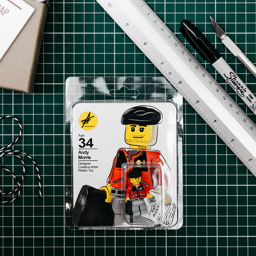 """CV'sini Lego'dan Yapan Tasarımcı """"Andy Morris!"""" 2"""