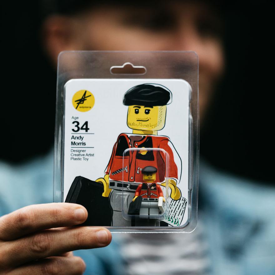 """CV'sini Lego'dan Yapan Tasarımcı """"Andy Morris!"""" 4"""