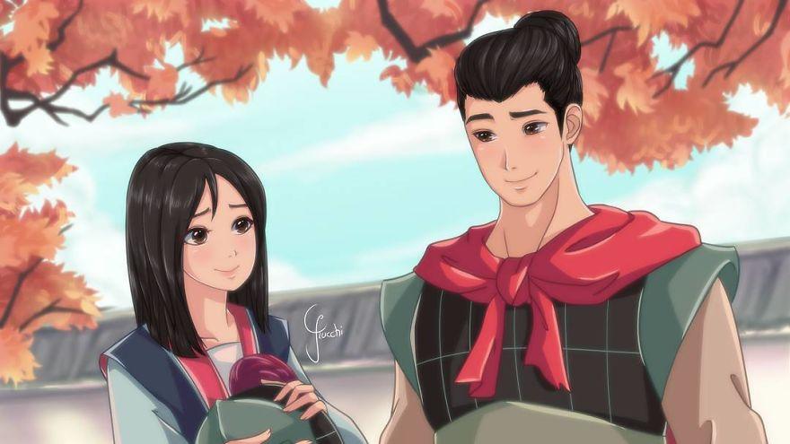 Mulan And Li Shang