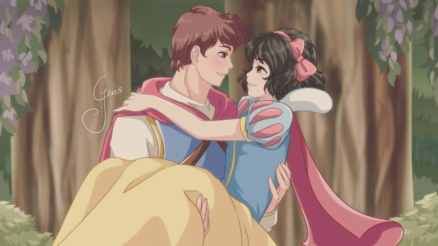 Snow White And Prince Phillip