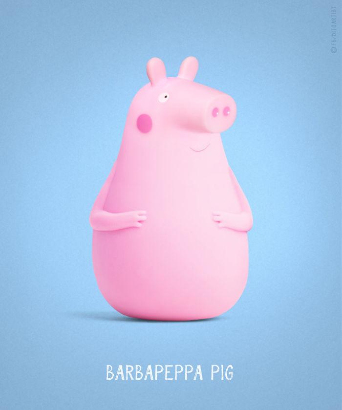 Barbapeppa Pig