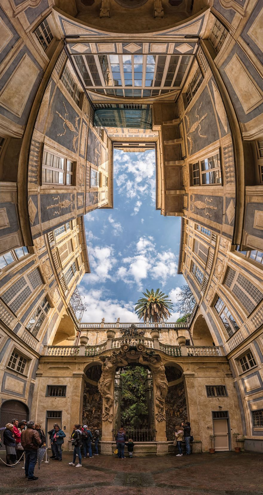 I Shoot Vertical Panorama To Search The Real Form Of Beautiful Architecture