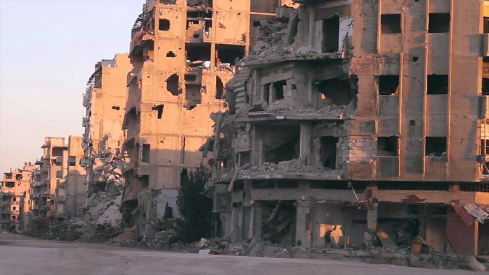 Destruction Of Homs