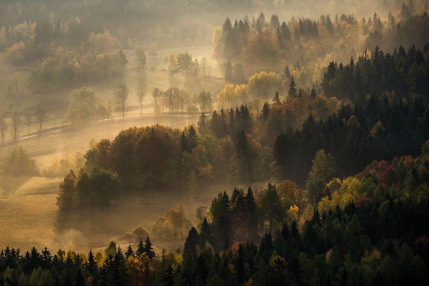Amazing Autumn In The Polish Sudetes