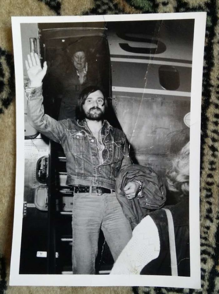 My Dad. Pulled Off Plaid And Denim. Might Have Been A Celeb In The 60's.