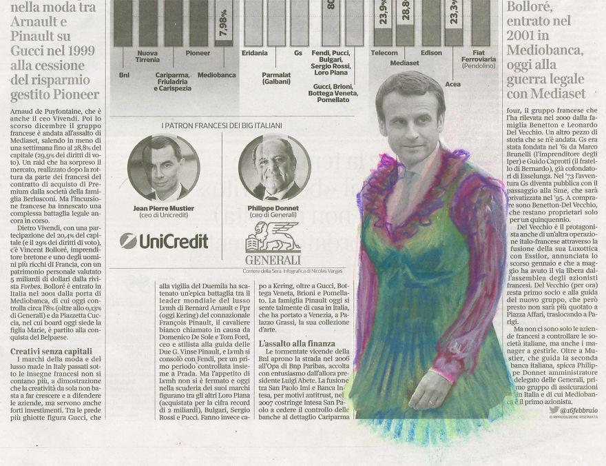 Moda Macron | Corriere Della Sera | Series Part III