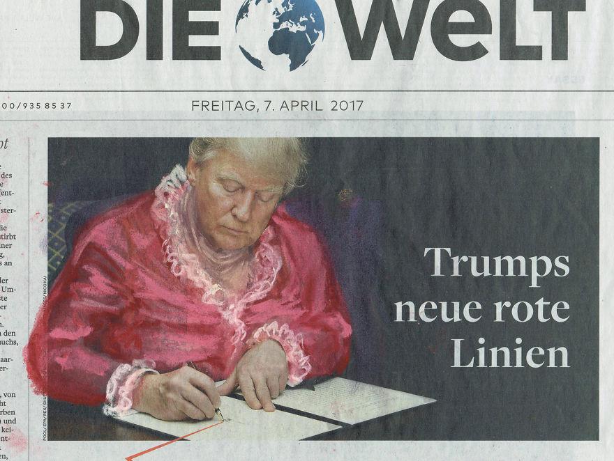 Trumps Neue Rote Linien | Die Welt | Series Part II