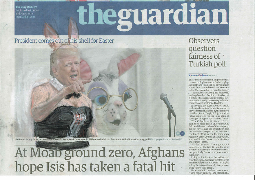 'President Comes Out Of His Shell For Easter' | The Guardian | Series Part II