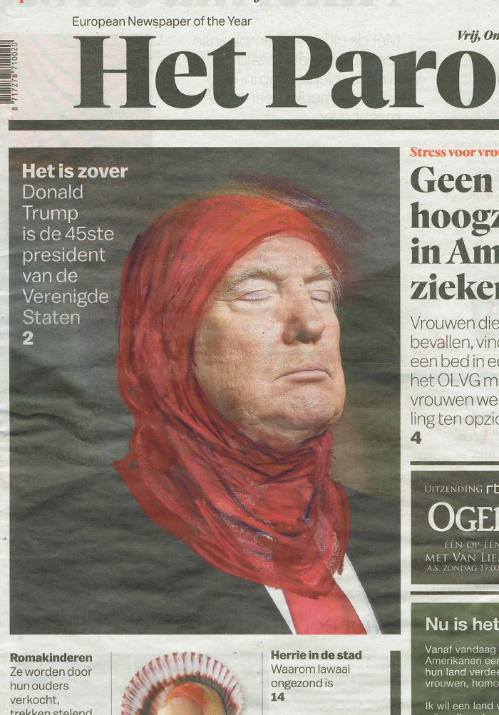 On Trumps Immigration Ban | Het Parool | Series Part I