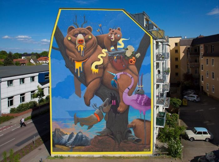 The Wonderful Street Art Of Antonio Segura Donat (Dulk)