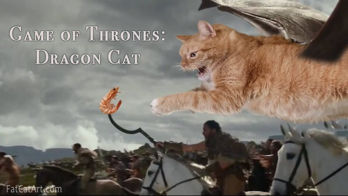 Dragon Kitty: A Cat Re-Enacted Drogon's Performance In Game Of Thrones