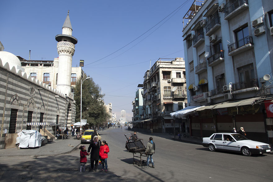 Street Of Damascus