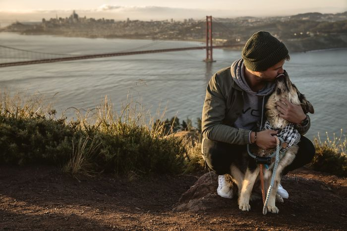 Straight From The SF SPCA To The Headlands To Capture The Beginning Of This Great Story