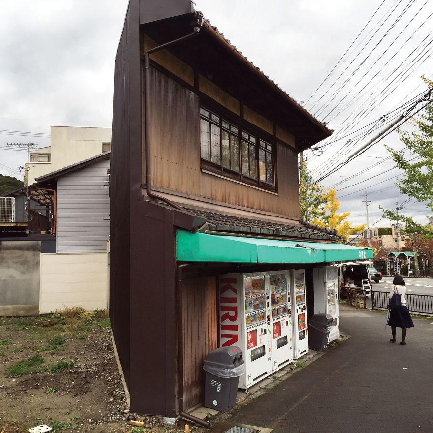 Corner Newsstand Near Ginkakuji Temple
