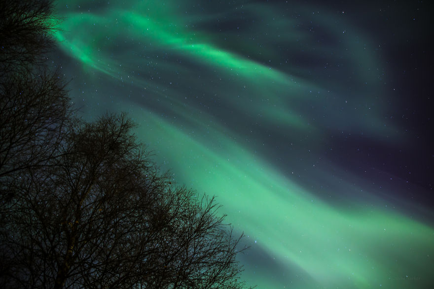 Sign Of The Aurora Storm
