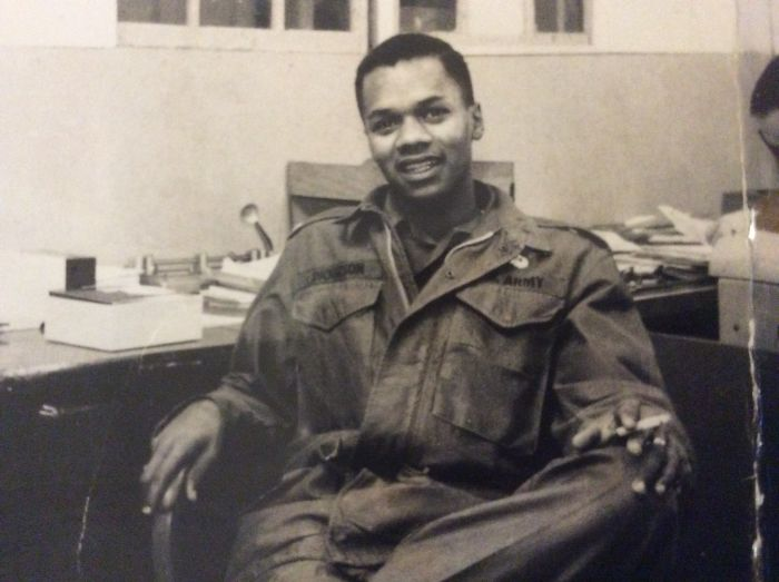 My Dad In 1966 Vietnam As A Lieutenant In The Army. One Of The Few Black Officers. He Passed Away On July 31, 2017. He's My Hero.