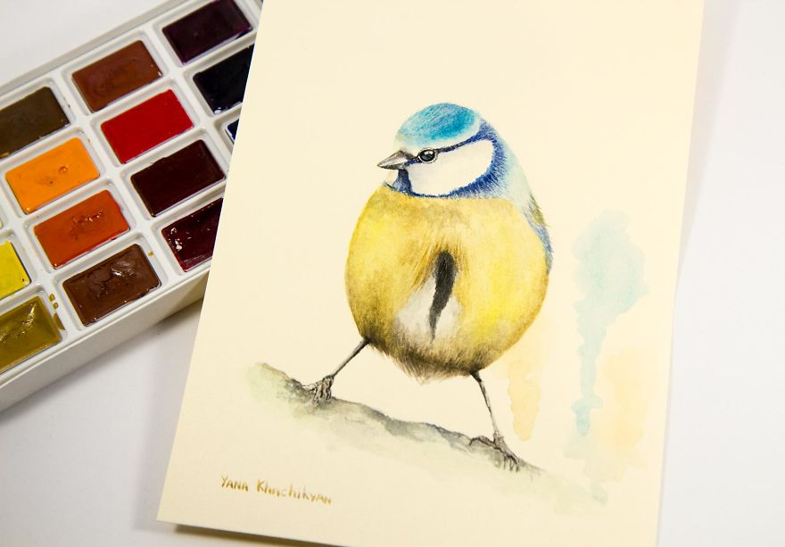 My First Watercolor Paintings