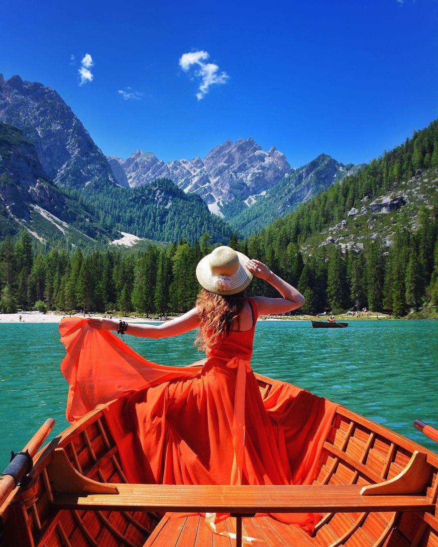 Lake Braies, Italia