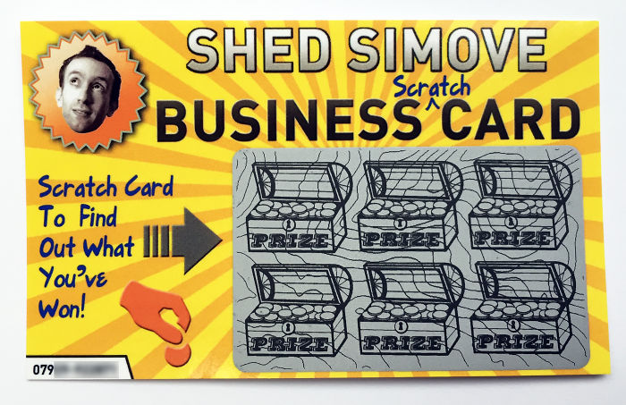 Is This The 'Best Business Card In The World'?..