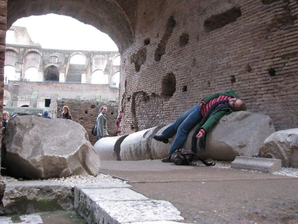 ...and My First Death At Coloseum. Romantic Valentine's Day 2009.