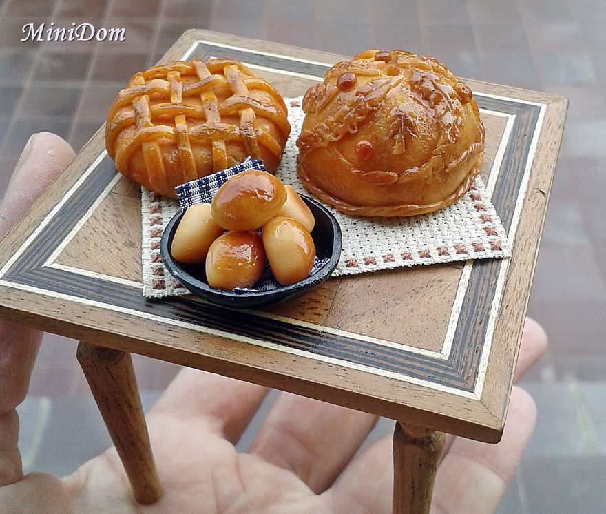 Miniature Doll Food That You Won't Distinguish From The Real Ones