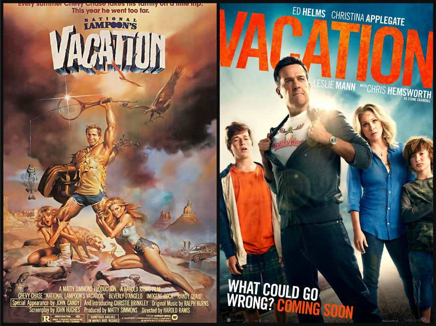 Vacation movie posters
