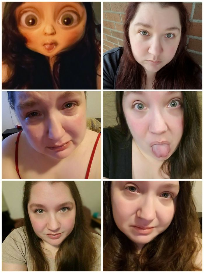 My Faces Of Depression And Suicidal Thoughts (As Well As Gad, Bpd, Cptsd, Etc) Vary Quite A Bit. Sometimes I Try To Hide/combat It By Smiling, Making Faces, Using Snapchat, Etc. Sometimes I Am Too Overwhelmed To Hide It And Sometimes I'm Tired Of Feeling Like I Have To. There Needs To Be A Lot More Understanding And Awareness Of Mental Illness.