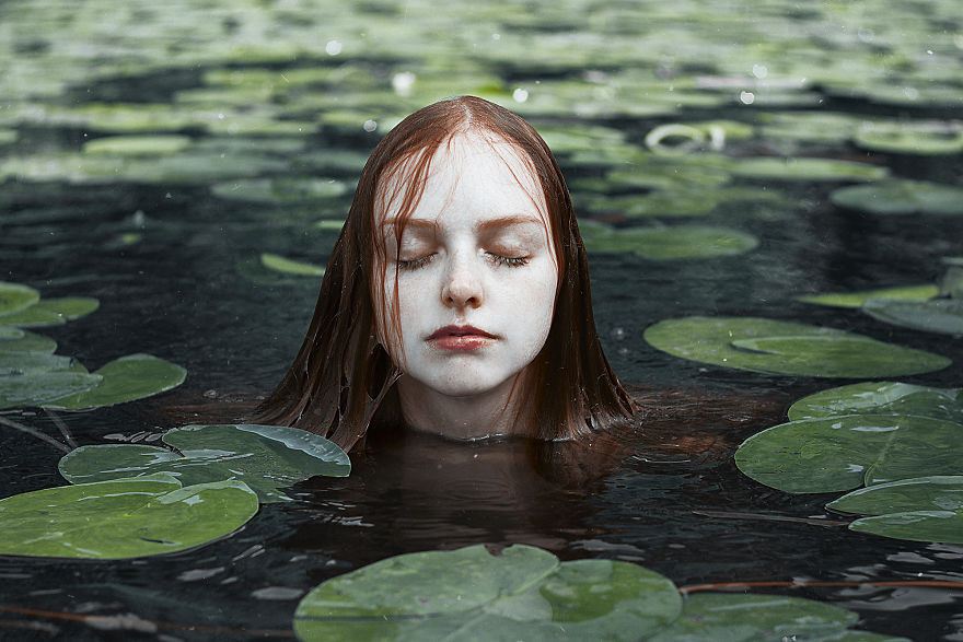 Redheads Stories: Reds In Water