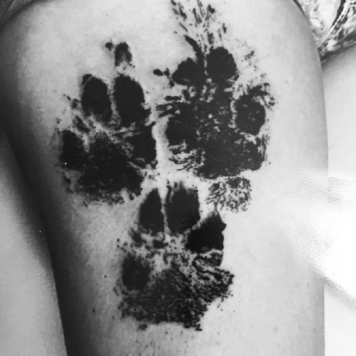 Dog Paws Tattoos