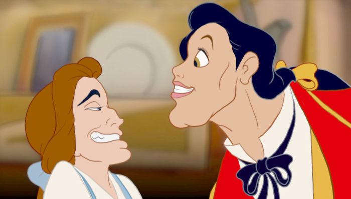Cartoon face swaps