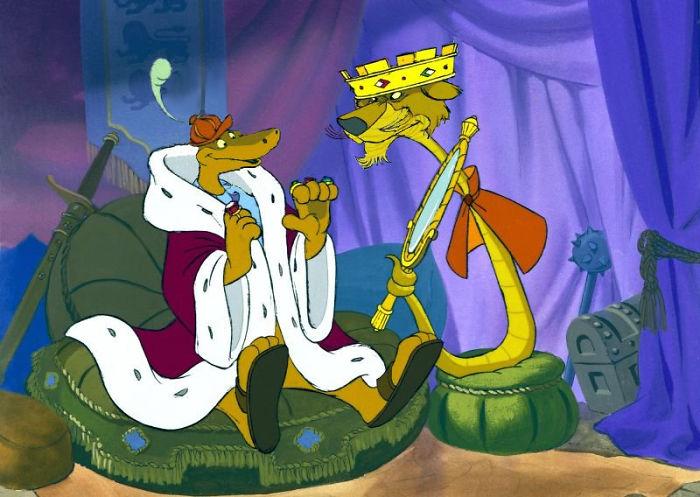 Eindelijk is Graaf Slis uit Robin Hood eens de baas over Prins Jan