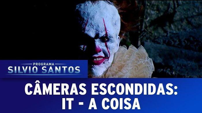 Brazilian Tv Show's Scary It Prank