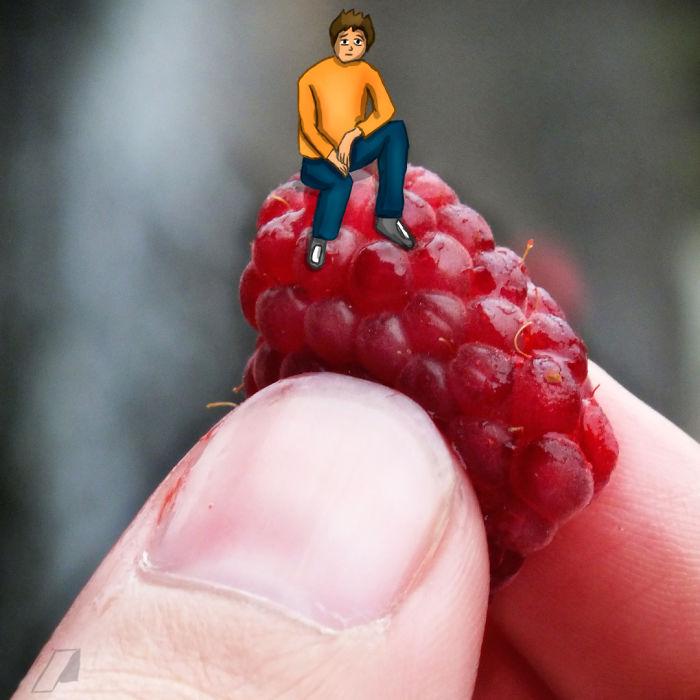 I Draw Tiny Characters On Photos