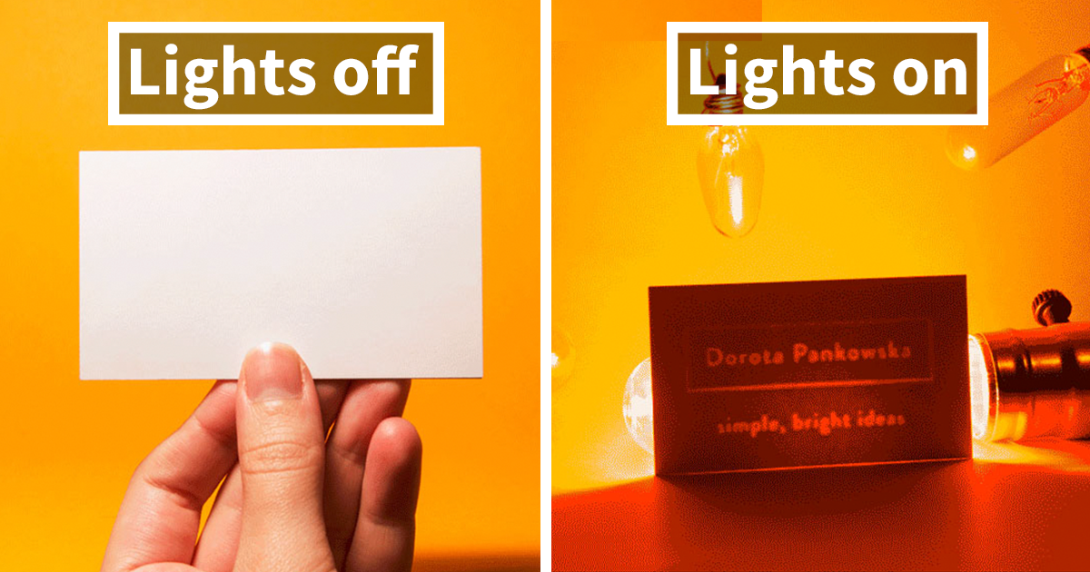 My New Creative Business Card Is Entirely Blank | Junk Host