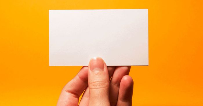 What is Your Business Card Saying about You?