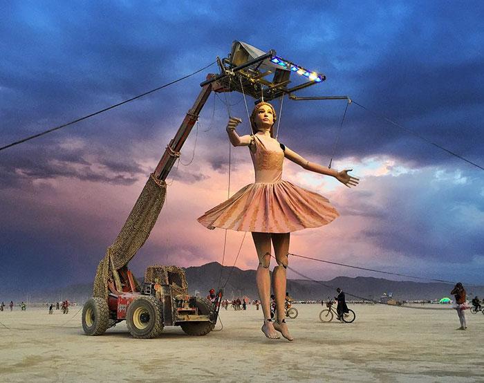 10+ Fotos Épicas de Burning Man 2017 Que Demuestran Que Es El Festival Más Alocado De Todo El Mundo