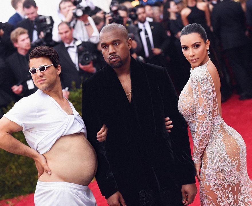 Celebrity Pic Photobomb