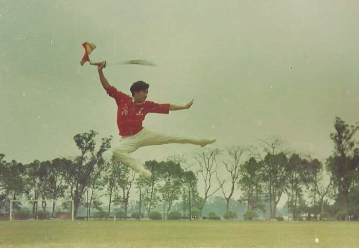 My Father In 1973. He Was A Chinese Martial Arts Instructor In Guangdong