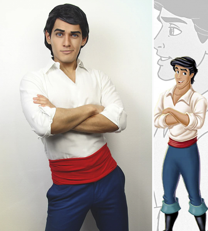 This Cosplayer Can Turn Himself Into Any Disney Character And His