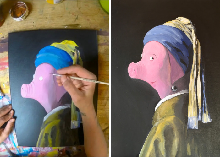 I Converted World Famous Masterpieces Into Children's Book Illustrations