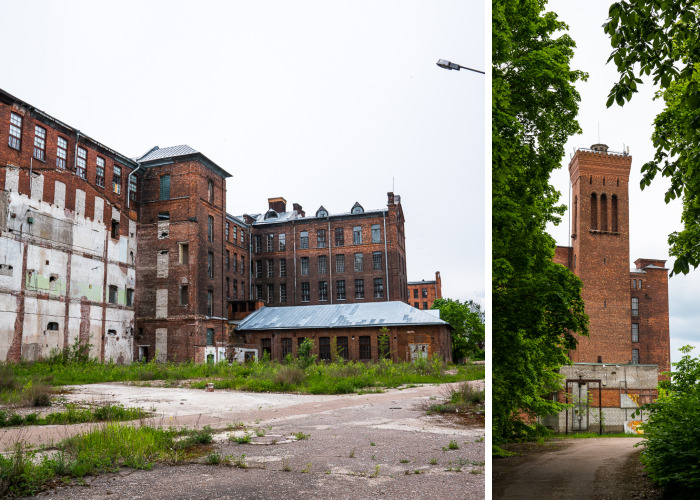 This Spooky Place Used To Be The Biggest Textile Factory In Europe