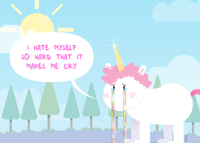 Anyone Can Have Depression. Even Unicorns